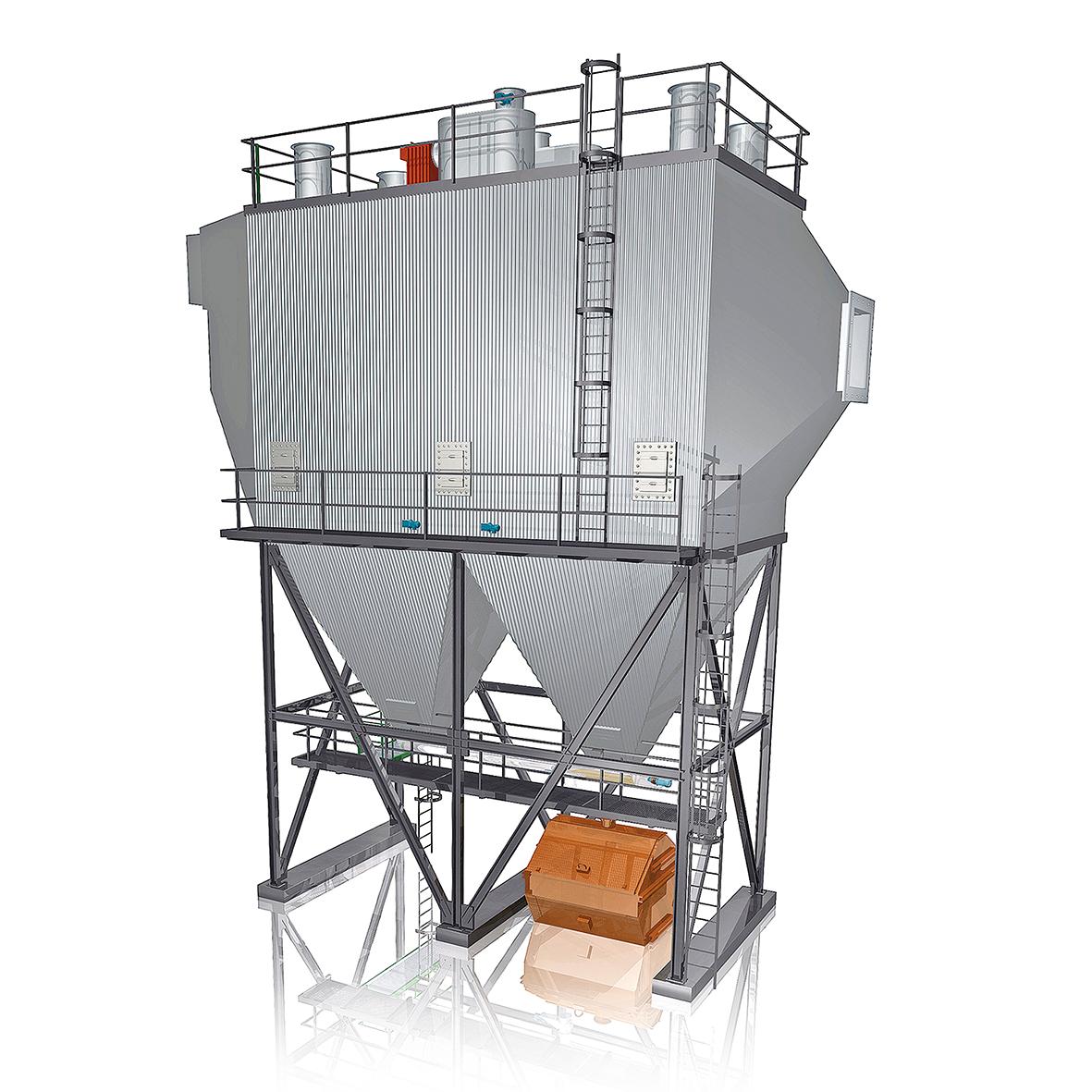 BETH Industrial Electrostatic Precipitator rr bethfiltration #8E411C
